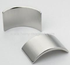 arc segment ndfeb magnet