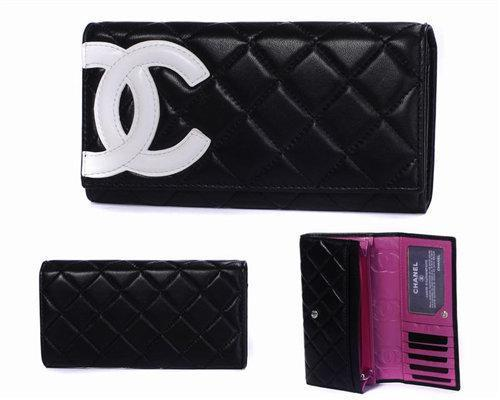 wholesale china aaaaa replica cheap chanel women real leather wallet wallets