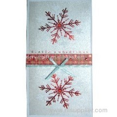 Christmas Music Paper Greeting Card