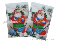 3d card with UV print