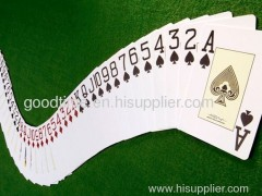 paper poker cards