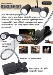 China Adjustable BBQ Led clip light