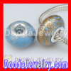 925 Sterling Silver Double Cores Charm Jewelry Polymer Clay Beads