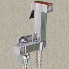 Brass square Shattaf Bidet douche hand shower