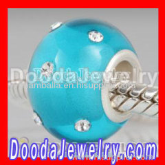 european crystal beads charms