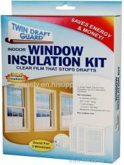 Twin Draft Window Guard