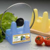 Convenient Pan Pot Cover Lid Rack Stand Holder Cooker
