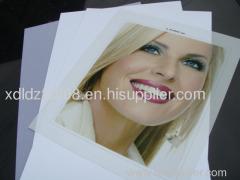 PVC no-laminated white card material