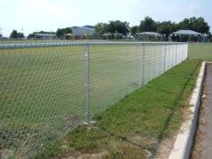 carbon steel chain link fence
