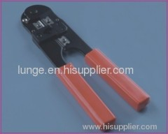 Crimping tool for RJ45 connector