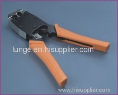crimping tool for rj45/rj12 modular connector