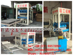 QT10-15 automatic hollow brick making machine