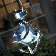 Saturn wind spinner light