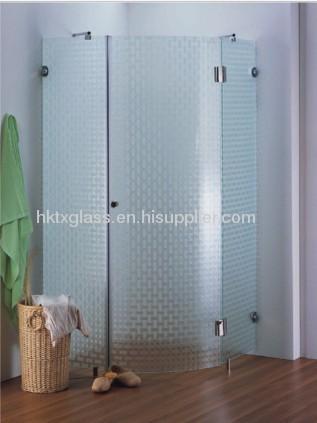 textured glass shower doors. Pattern Glass/ Textured Figured Pressed Glass Shower Doors X