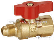 Gas Ball Valve Al Handle