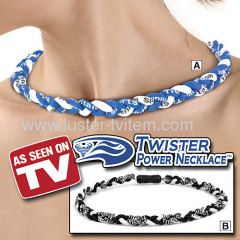 TWISTER POWER NECKLACE
