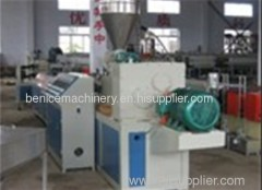 Pinch plate extrusion line