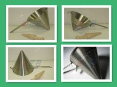witches hats ,cone filters , wire mesh strainers