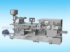 DPH-260 Full-Automatic Roller-plate High Speed Blister Packing Machine