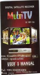 Hot selling MultiTV very cheap real HD decoder 1080p with Multi-CAS and support dongle