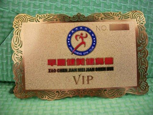 Silver Metal Card/Silkscreen or Engraved
