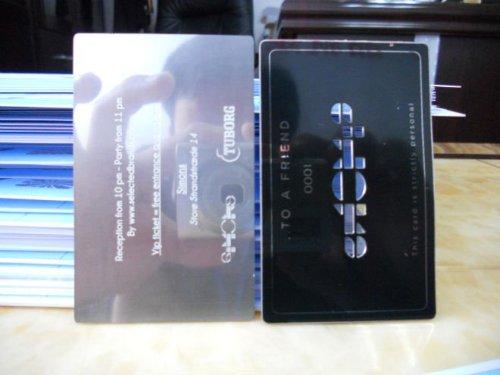 Aluminum Business Card