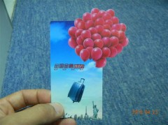 special size membership card