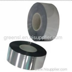 Al/Zn metallized film for capacitor