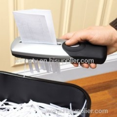 Hand Held Paper Shredder