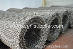 stainless Sseel crimped wire netting
