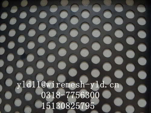 Powder Coated Perforated metal meshes baskets