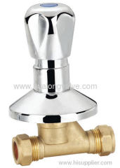 H-02211 Forged Brass Stop Valve