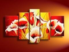 Handmade Oil Paintings Of Flowers