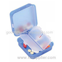 pill box with interlayer