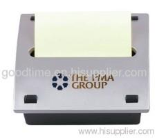Silver Memo Holder Box