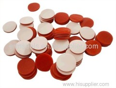 Red PTFE/White Silicone Septa