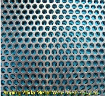 square hole perforated mesh