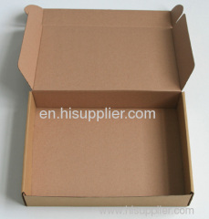 Brown kraft corrugated paper Self-erect die-cut boxes