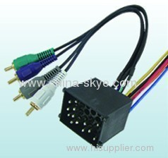 Amplifier wire harness