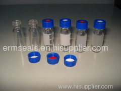 PTFE and silicone septa for HPLC 1.5ml/2ml glass sampler vials