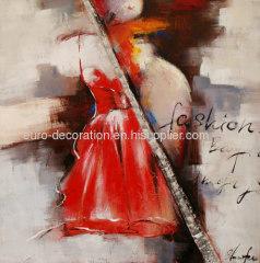 Women Portrait Oil Paintings On Canvas