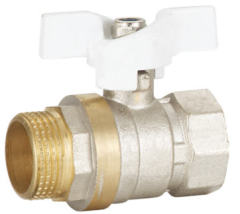 mini brass ball valve F/M