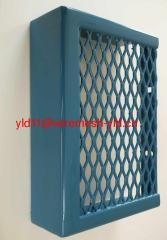 expanded metal mesh for protecting machine