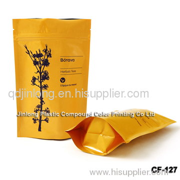 zipper coffee bag