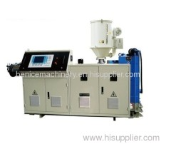 Extruder for plastic products