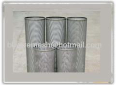 Cylindrical Metal Filter Core