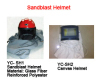 sandblast helmet sandblast hood safety helmet canvas helmet