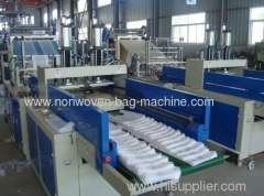 T-shirt bag making machine T-shirt bag making machinery