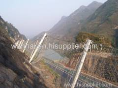 strong galvanized Rockfall Netting