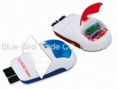 mouse brush with name card holder